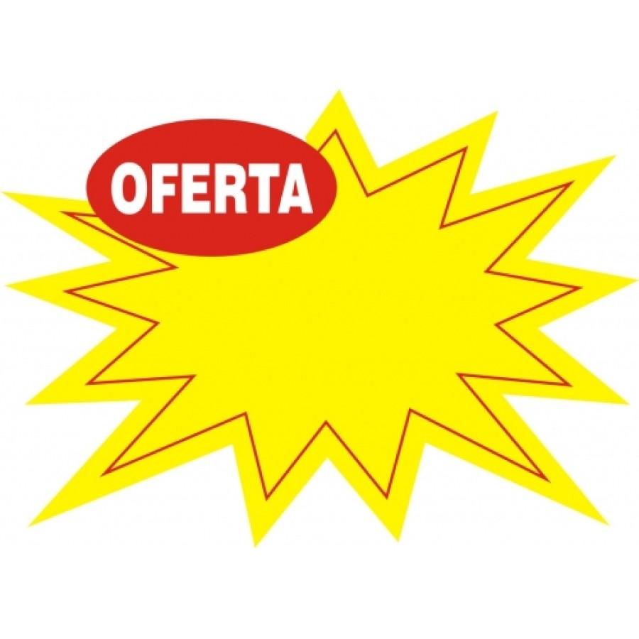 Splash de oferta 29x21cm embalagem c 100un for Precio logo